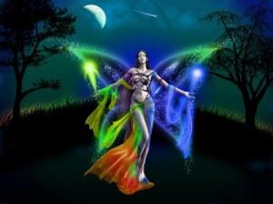 rainbow enchanted fairy realm..