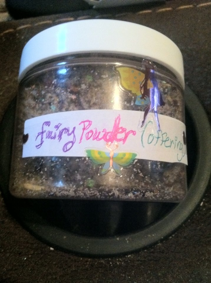 faery powder offering handcrafted