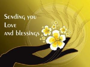 love & blessings