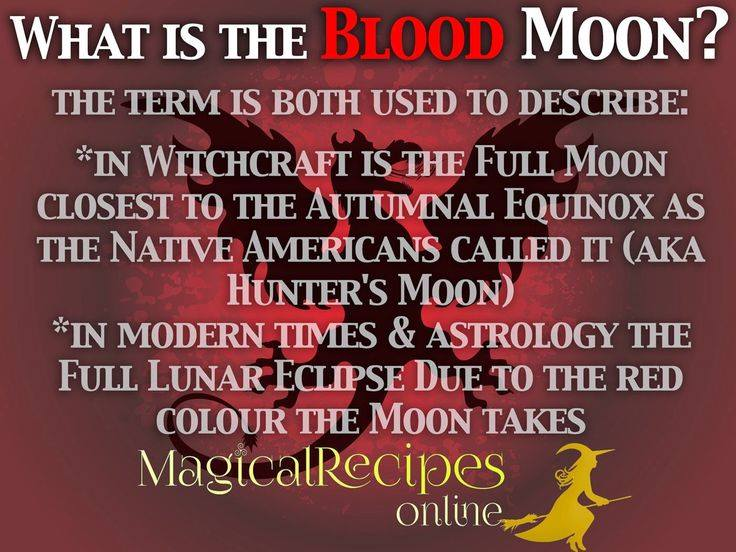 blood moon info