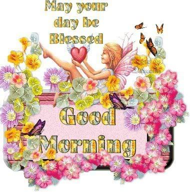 Lovely-fairy-blessed-good-morning-with-flowers