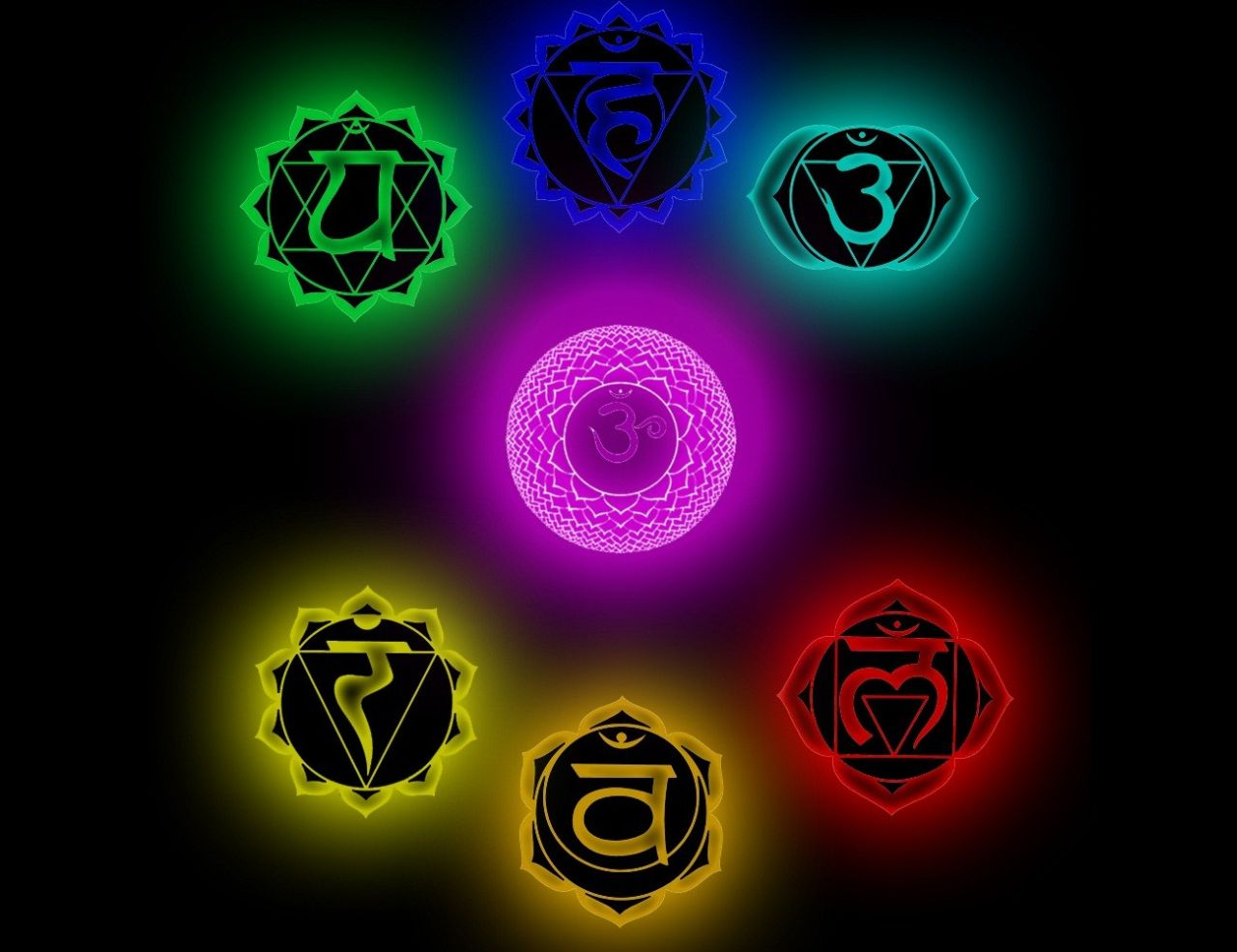 Chakra Symbol Wallpaper Merrigan Crafts